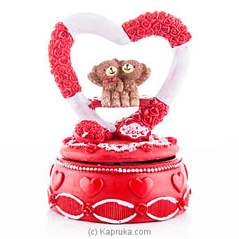 Teddy Couple In A Heart at Kapruka Online for specialGifts