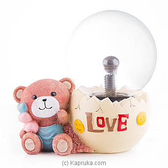 Love Touch Plasma Ball With Teddy at Kapruka Online for specialGifts