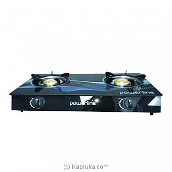 Powerline Glasstop Gas Cooker PL-GCG-2BR at Kapruka Online for specialGifts