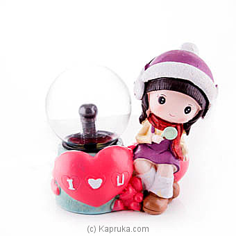 `I Love You` Plasma Ball By HABITAT ACCENT at Kapruka Online forspecialGifts