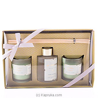 Sense Of Sea Salt & Surf Fragrance Candle Gift Set at Kapruka Online for specialGifts