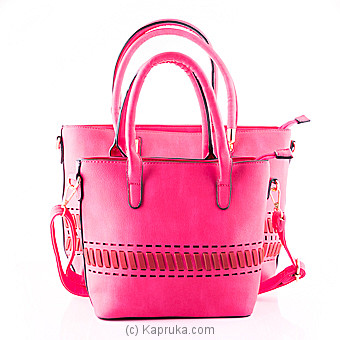Classy Pink Ladies Hand Bag at Kapruka Online for specialGifts