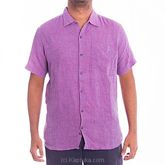 Short Sleeve Purple Casual Shirt at Kapruka Online for specialGifts