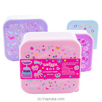 Smiggle Squad Container 4 In 1 at Kapruka Online for specialGifts