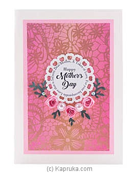 Mother`s Day Handmade Greeting Card  at Kapruka Online for specialGifts