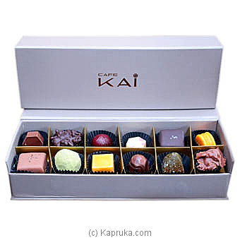12 Piece Non Alcoholic Chocolates(Hilton) at Kapruka Online for specialGifts
