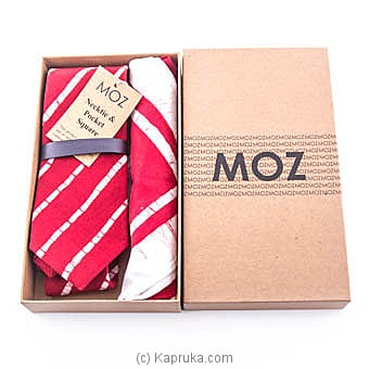 Batik Tie Gift Pack (Red) at Kapruka Online