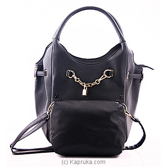 Outlook Black Queens Shoulder Bag at Kapruka Online for specialGifts