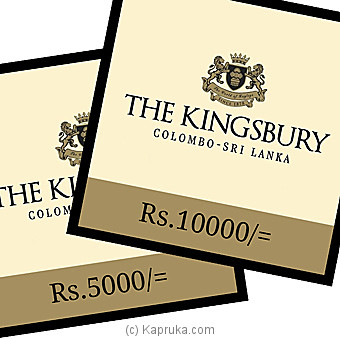 The Kingsbury Dining Voucher at Kapruka Online for specialGifts