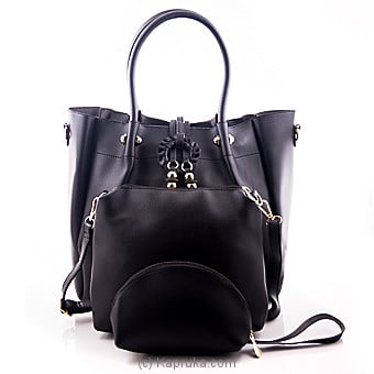 Superlative Black Ladies Hand Bag  at Kapruka Online for specialGifts