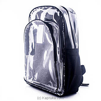 Clear Backpackat Kapruka Online forspecialGifts