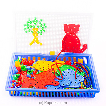 Mosaic Pegboard Jigsaw Puzzle at Kapruka Online for specialGifts