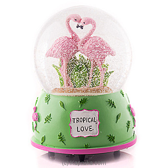 Flemingo Tropical Love Musical Globe at Kapruka Online for specialGifts