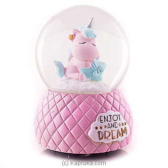 Dreamy Unicorn Musical Globe at Kapruka Online for specialGifts