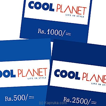 Cool Planet at Kapruka Online for specialGifts
