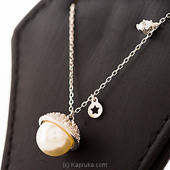 Pearl Silver Pendant With Necklace at Kapruka Online for specialGifts