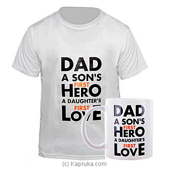 Dad You`re My Hero And You`re My Love- at Kapruka Online for specialGifts