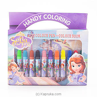 Sofia The First Coloring Pen Boxat Kapruka Online forspecialGifts
