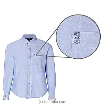 Trinity College Long Sleeve Shirt-Casual Blue at Kapruka Online for specialGifts