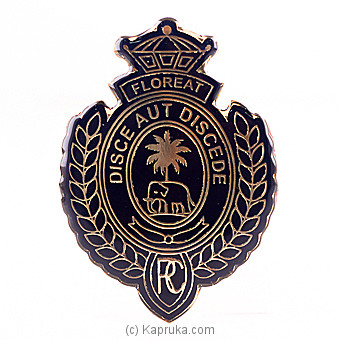 Royal College Car Badge Blue By Royal College at Kapruka Online forspecialGifts