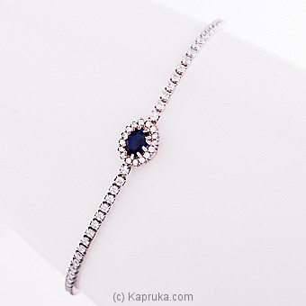 Blue Shapphire Bracelet (STP797B) at Kapruka Online for specialGifts
