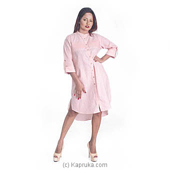 Pink Linen Dress at Kapruka Online for specialGifts