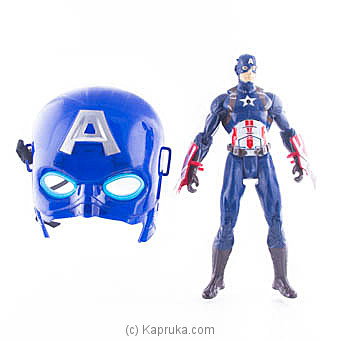 Captain America In Action With Face Mask at Kapruka Online for specialGifts