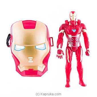 Superhero Iron Man Action Figure With Face Mask at Kapruka Online for specialGifts