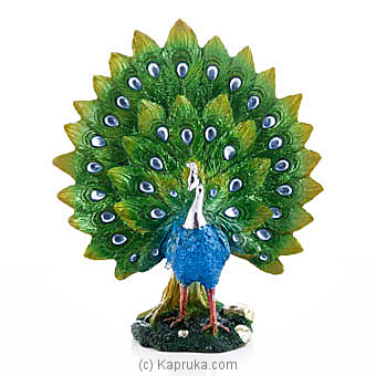 Dancing Peacock Table Ornament at Kapruka Online for specialGifts