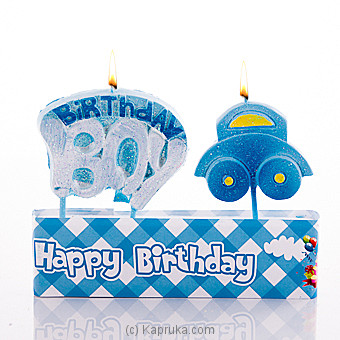 Birthday Boy Candles at Kapruka Online for specialGifts