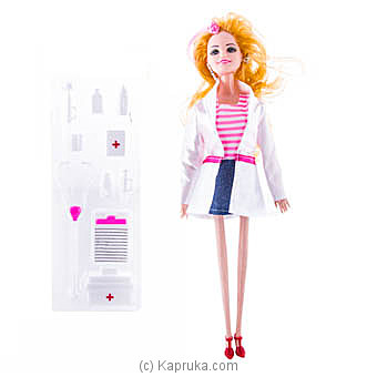 Doctor Barbie Doll By Brightmind at Kapruka Online forspecialGifts