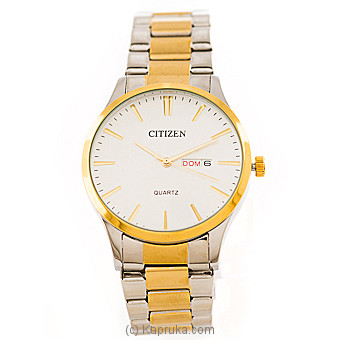 Citizen Silver And Gold Gents Watch By CITIZEN at Kapruka Online forspecialGifts