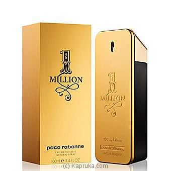 1 Million Cologne Paco Rabanne For Men 100ml at Kapruka Online for specialGifts