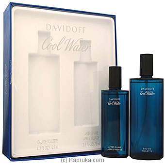 Davidoff Cool Water Gift Set For Men 125ml at Kapruka Online for specialGifts