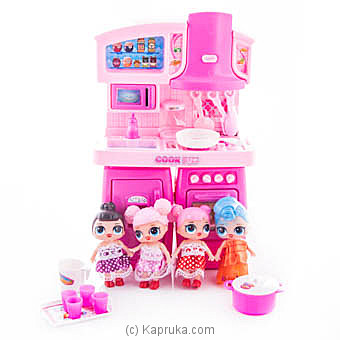 Little Kid Kitchen Play Set at Kapruka Online for specialGifts
