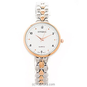 Citizen Silver And Gold Ladies Watch  at Kapruka Online for specialGifts
