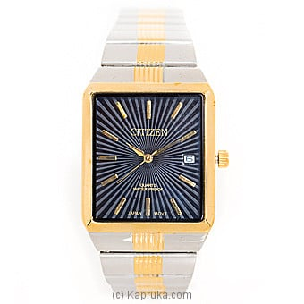 Citizen Silver And Gold Gents Watch  at Kapruka Online for specialGifts