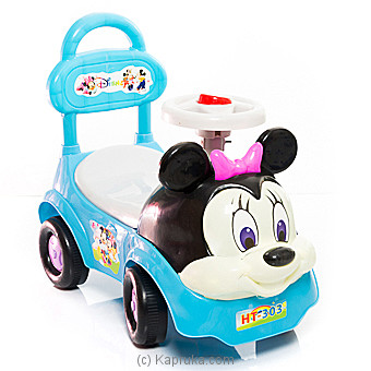 Kids Blue Minnie Mouse Baby Car at Kapruka Online for specialGifts