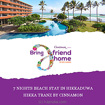Hikka Tranz By Cinnamon 7 Nights Beach Stay In Hikkaduwa - at Kapruka Online for specialGifts