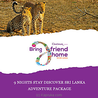 9 Nights Stay Discover Sri Lanka Adventure Package at Kapruka Online for specialGifts