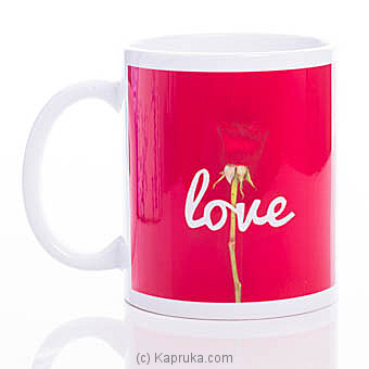 Rose Love Mug at Kapruka Online for specialGifts