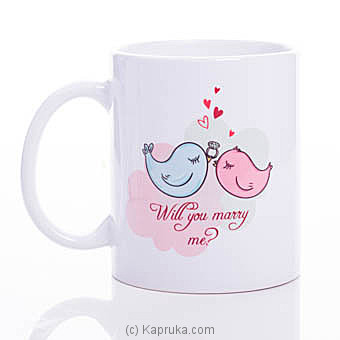 Will You Marry Me Mug at Kapruka Online for specialGifts