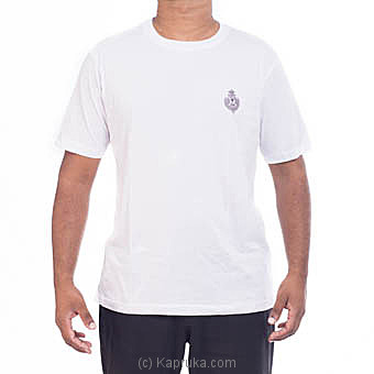 Royal College Plain T-Shirt With Crest By Royal College at Kapruka Online forspecialGifts