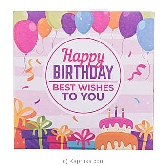 Happy Birthday Handmade Greeting Cardat Kapruka Online forspecialGifts
