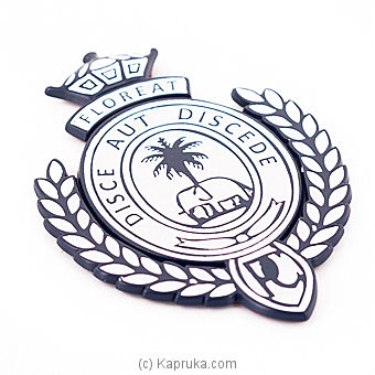 Royal College Car Badge - Dark Blue By Royal College at Kapruka Online forspecialGifts