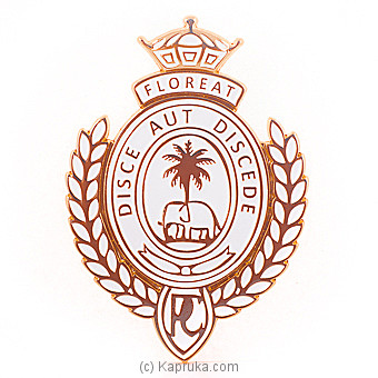 Royal College Car Badge - Gold By Royal College at Kapruka Online forspecialGifts