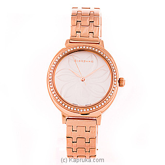 Giordano Womens Metallic Analogue Watch at Kapruka Online for specialGifts