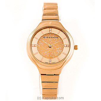 Giordano Womens Two Tone Dial Analogue Watch at Kapruka Online for specialGifts