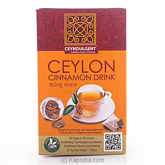 Ceyndulgent Cinnamon Drink 20 Pyramid Bag Pack at Kapruka Online for specialGifts