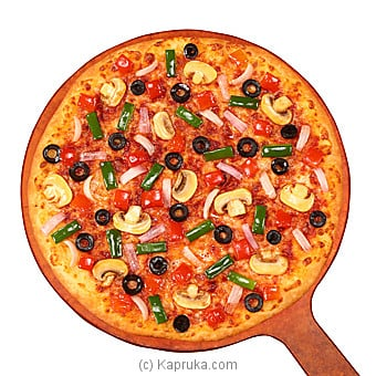 Vegetariano Thin Crust  Large By PIZZA HUT at Kapruka Online forspecialGifts